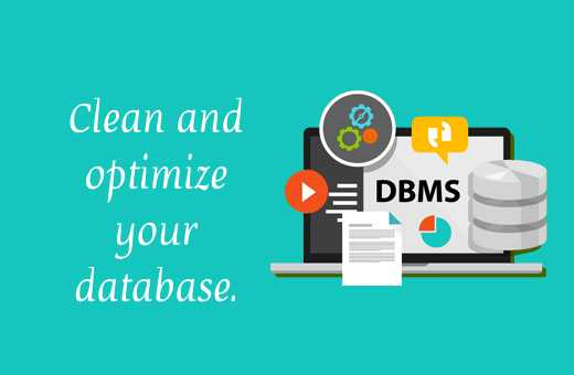 Clean & optimize your database